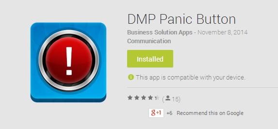 DMP Panic Button : বিপদে তাৎক্ষনিক পুলিশী সাহায্য
